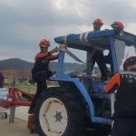 고성소방서 농기계 사고 대비 인명구조훈련