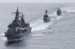 해군 1함대 동해상 해상사격