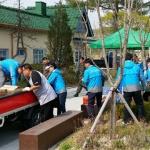 안전보건공단 강원지사 밀알나눔 바자회서 봉사활동