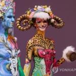'눈을 뗄 수 없는 화려함'…국제 미용사 축제