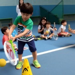 축제같은 분위기 테니스 꿈나무 '한판승부' 펼치다