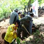 21사단 백석산서 유해발굴