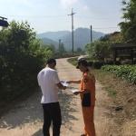 철원소방서 등산사고 신고앱 캠페인