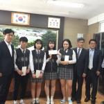 용평리조트 남태수 상무 지역 고교생에 장학금 전달