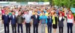 1만여 도민 나라사랑 되새기며 ' 화합의 대행진'