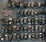 세월호 수습 차량