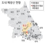 도내 폐석탄 광산 주변 오염 심각