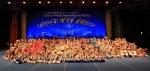 전국 청소년, 화려한 몸놀림으로 올림픽 응원하다