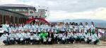 40개국 글로벌 뷰티퀸 '평화의벽' 캠페인 참여