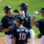 '오재일 4홈런 9타점' 두산, 3년 연속 KS 진출…'KIA 나와라'