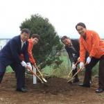인제군·일본 고토우라정 교류 20주년 기념식수