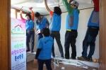화천자원봉사센터 도배교체 봉사