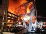 원주 건설회사 자재창고서 화재