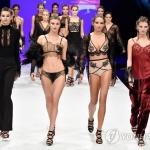 '모델들의 당당한 포즈'…프랑스 란제리 패션쇼