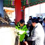평창 동계올림픽 성공 기원 평화의 종 기탁·종각 기증식