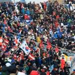 평창올림픽 경기장 안팎 모두 ' 흥행 중'