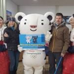 KTX진부역 올림픽 손님맞이 환영행사 인기