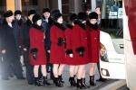 북한 예술단 경의선 육로로 평양 복귀