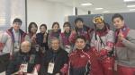 염수정 추기경, 올림픽 의료지원단 격려
