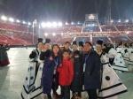 모친상 아픔에도 올림픽 개막식 빛낸 가족