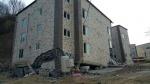 원주 신축 중 건물 1층 바닥 붕괴