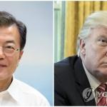 문 대통령-트럼프 통화 주중 성사될까…남북 정상회담 첫 고비