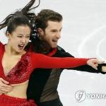 민유라-겜린, 쇼트댄스 61.22점…'아리랑' 프리 진출 확정