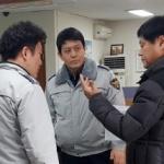 부하 직원 향한 흉기 공격…몸 던져 막아낸 경찰관