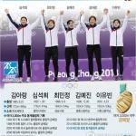 """2관왕 최민정 """"같이 딴 금메달이라 기쁨 5배"""""""