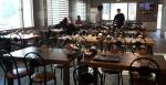 강릉 올림픽파크 주변 식당 도로통제 '울상'