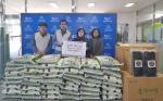 한국동서발전 동해바이오화력본부 쌀 전달