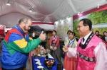 전정환 정선군수 올림픽 자원봉사