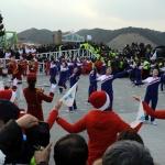 """""""평양 마라톤서 다시 만납시다"""" 열띤 응원 후 재회 약속"""