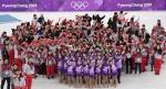 올림픽 자원봉사자 기념촬영