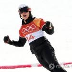 이상호, 스노보드 銀메달…한국스키 58년 만에 감격의 첫 메달