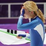 김보름 '눈물의 은메달'…팀추월 논란 딛고 빙속 여자 매스스타트 銀