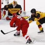 NHL 빠진 평창의 제왕은 OAR, 독일에 4-3 승리