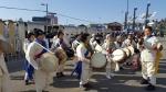 평창민속예술공연단 라스트마일 구간서 공연
