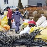 양구 심포리 마을회 봄맞이 환경정화 활동