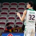 '원주DB의 기둥' 김주성, 정규리그 우승으로 '아름다운 마침표