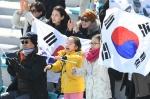 평창군민 1200여명 패럴림픽대회서 뜨거운 응원전