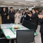 강릉시장 동계올림픽 성공 개최 직원 격려