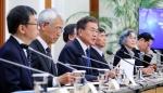문대통령 반부패정책협의회 참석