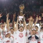 프로농구 SK, 18년 만에 우승 '감격'…MVP는 화이트
