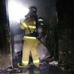 원주시 단계동 아파트 화재