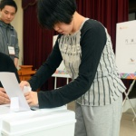 지적·발달장애인 모의투표 체험