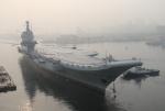 중국 자국산 항공모함 출항