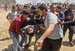이스라엘군 발포… 대규모 유혈사태 발생