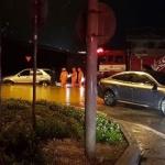 평창 횡계리 하천 범람 62가구 침수,주민 120명 긴급 대피