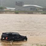 국지성 폭우로 하천범람 침수피해 속출